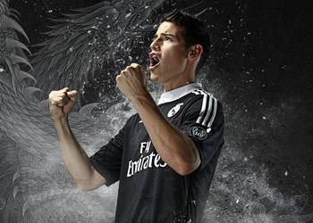 James Rodriguez con el nuevo modelo | Foto Adidas
