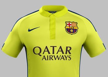 Tercera casaca del Barcelona | Foto Nike
