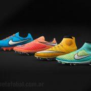 Los nuevos colores de los botines Nike