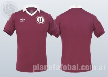 Nueva camiseta suplente de Universitario 2014 | Foto Umbro