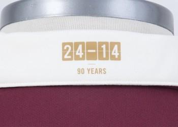 Detalle por los noventa años de la marca | Foto Umbro