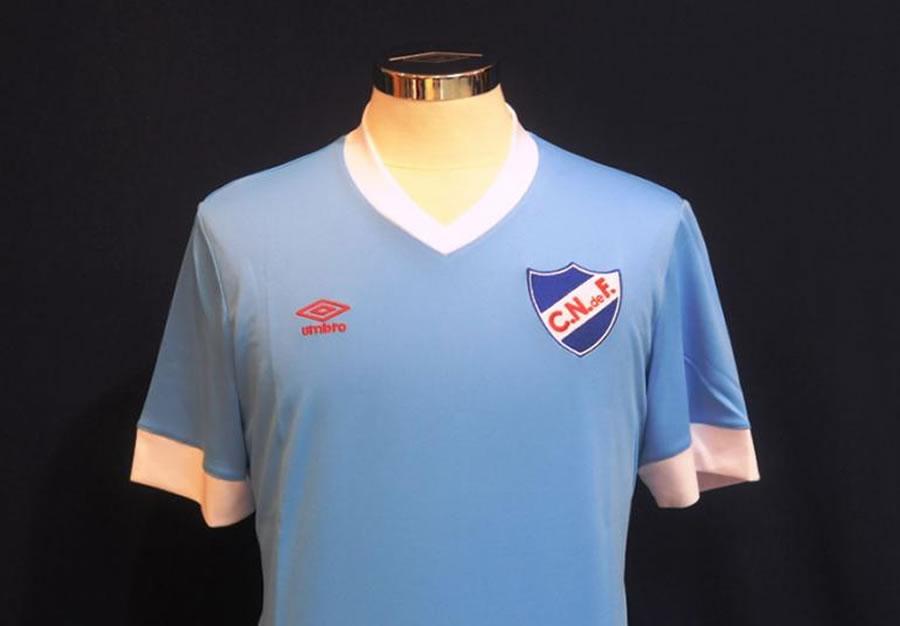 Nueva camiseta Umbro edición limitada de Nacional | Foto Ovación