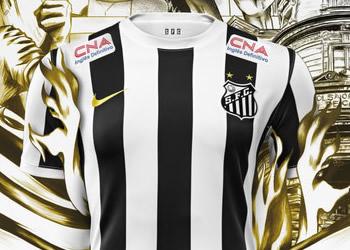 Nueva camiseta del Santos | Foto Nike
