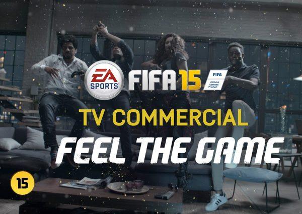 Comercial del videojuego FIFA 15 | Foto EA Sports