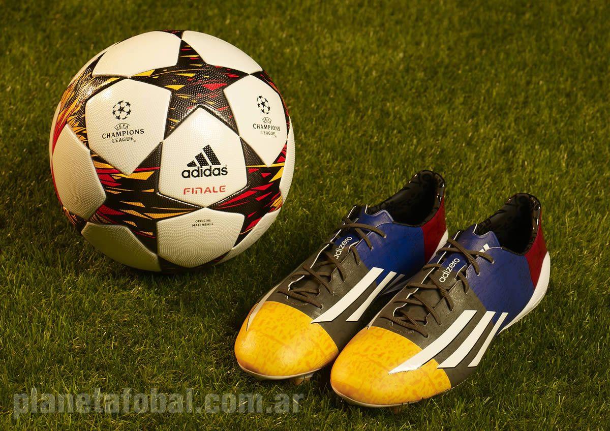 f50 Adizero de Messi para la Champions | Foto Adidas