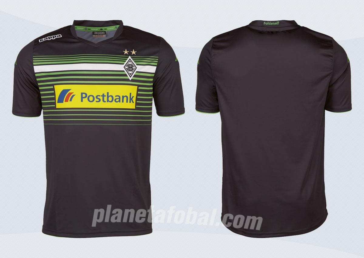 Nueva  camsieta del Borussia Monchengladbach | Foto Web Oficial