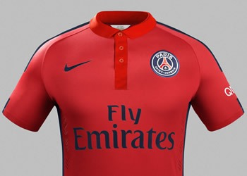 Tercera camiseta del PSG | Foto Nike