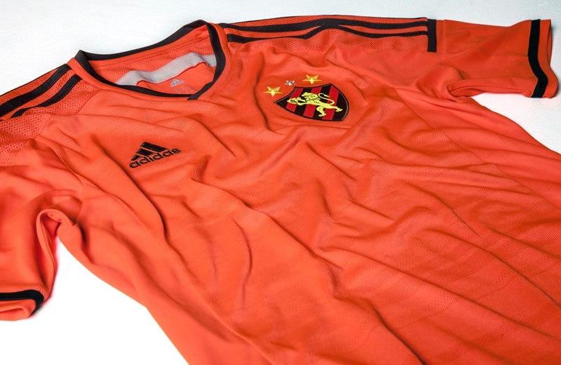Tercera camiseta del Sport Recife de Brasil 2014 | Foto Adidas