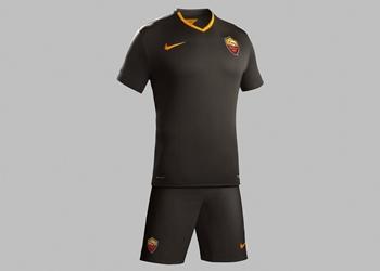 Tercera camiseta de la Roma para la temporada 2014/2015 | Foto Nike