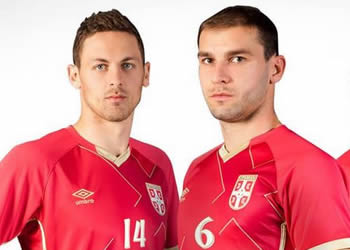Camiseta titular de Serbia | Foto Umbro
