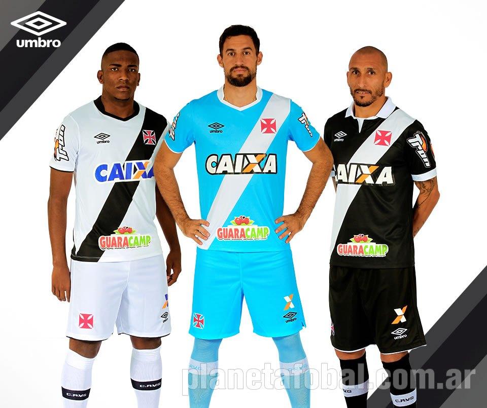 Nuevas camisetas del Vasco Da Gama | Foto Umbro