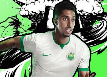 Camiseta titular de Arabia Saudita | Foto Nike