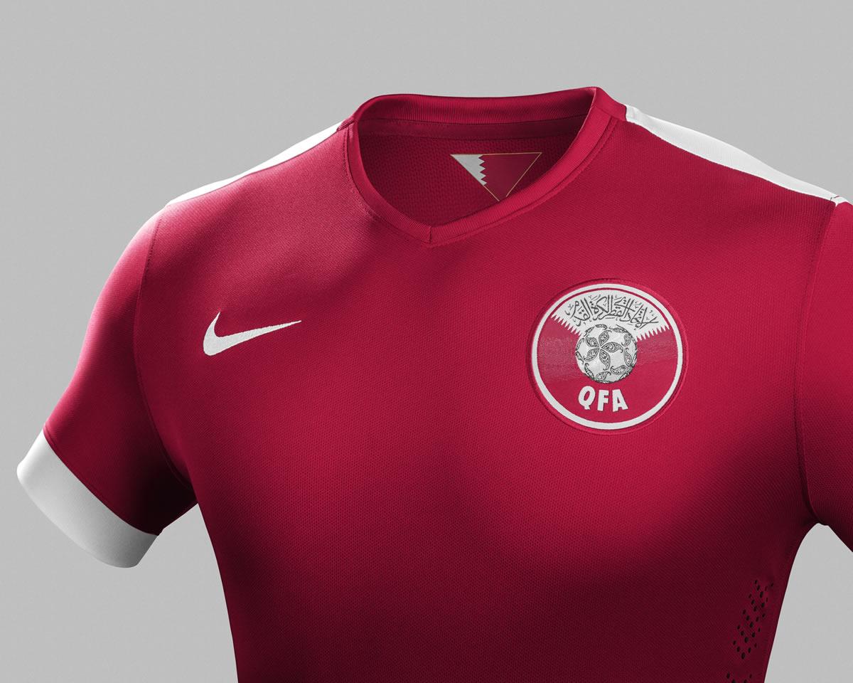Camiseta titular de Catar | Foto Nike