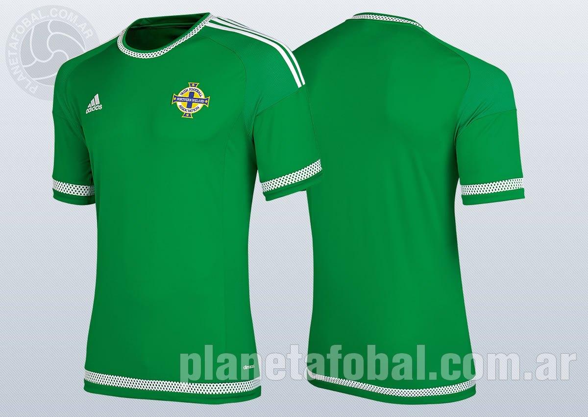 La nueva camiseta de Irlanda del Norte | Imágenes JD Sports