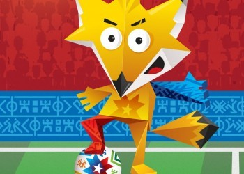 Fue develada la mascota oficial de la Copa América | Foto web oficial CA Chile 2015