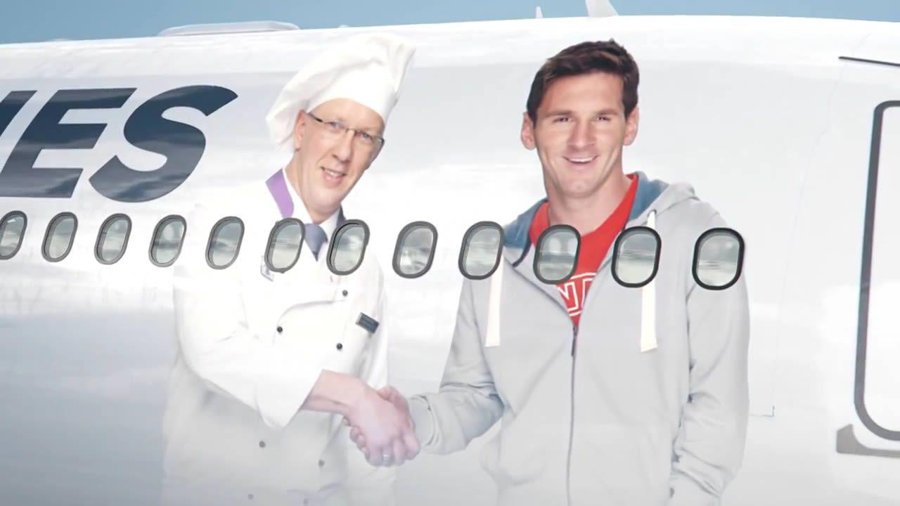 Comercial Messi vs Drogba de Turkish Airlines