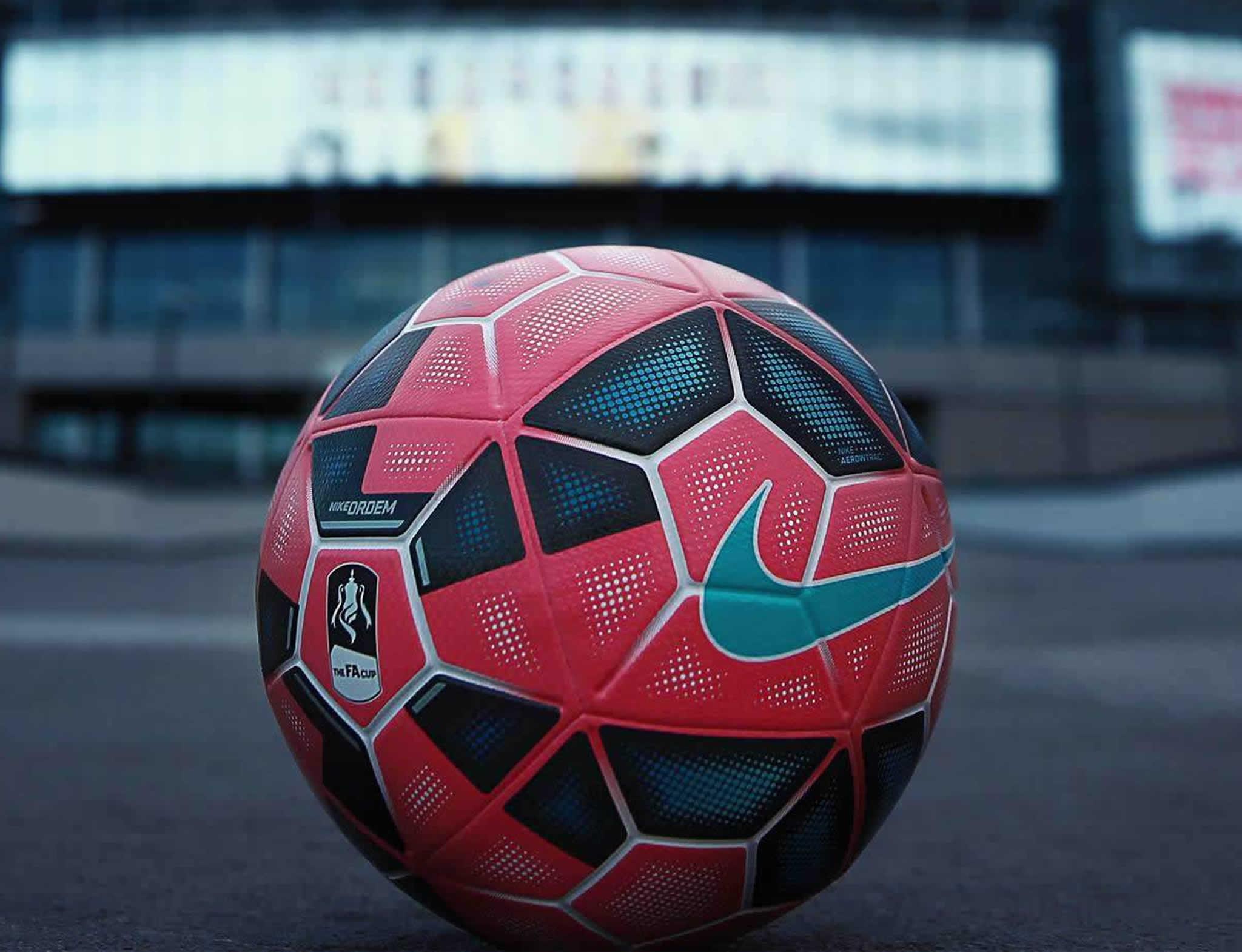 El balón de la FA Cup 2014/2015 | Foto Nike