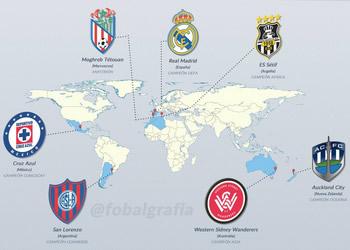 Los siete participantes del Mundial de Clubes 2014