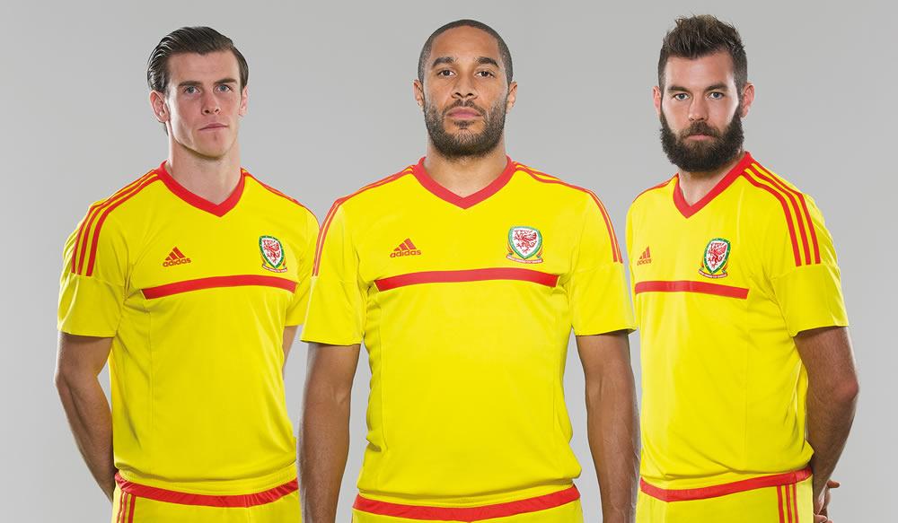 Camiseta de Gales para 2014/2015 | Foto Web Oficial
