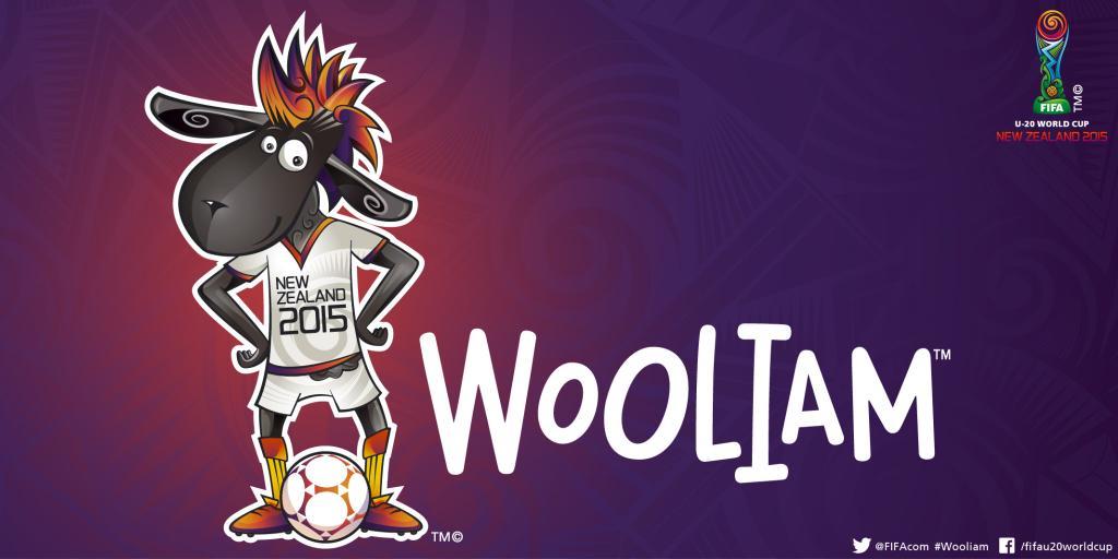 La oveja negra Wooliam es la mascota oficial del Mundial Sub 20 | Foto FIFA