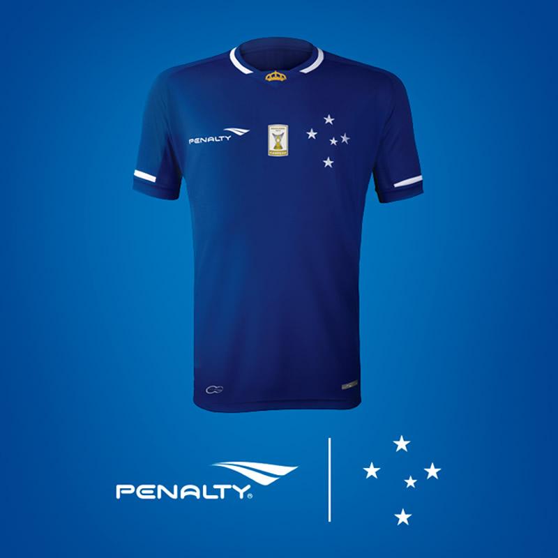 La nueva casaca del Cruzeiro | Foto Twitter Oficial
