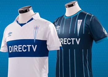 Nuevas camisetas Umbro de la Universidad Católica para 2015 | Foto web oficial