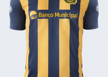 Camiseta titular de Rosario Central | Foto Nike