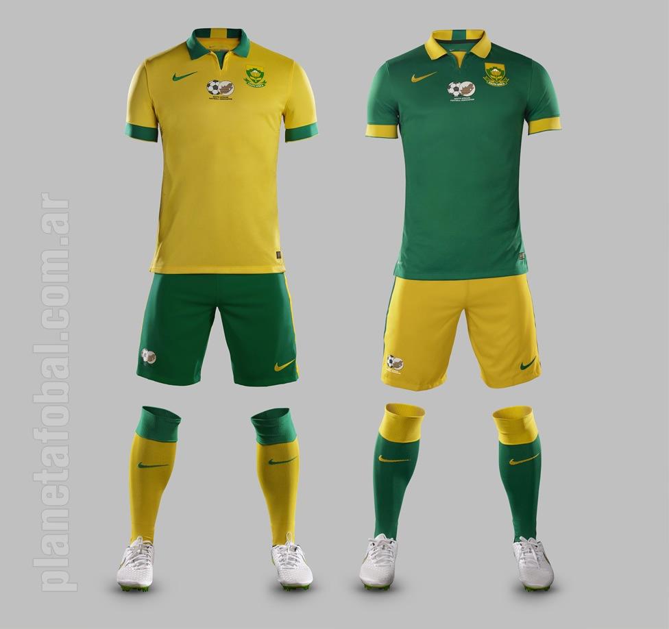 Las dos casacas de Sudáfrica | Imágenes Nike