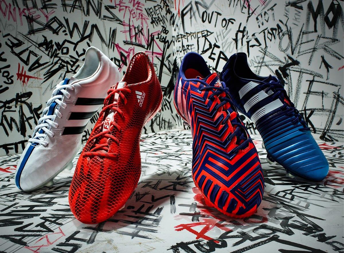 Nueva colección de botines Adidas 2015