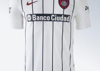 Camiseta suplente de San Lorenzo | Imagen Netshoes