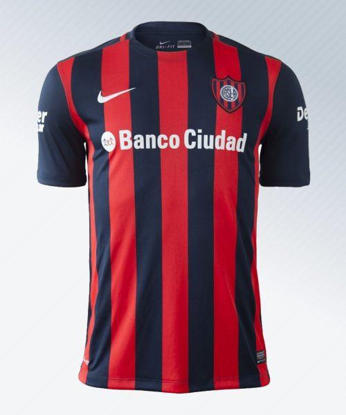 Camiseta titular de San Lorenzo | Imagen Netshoes