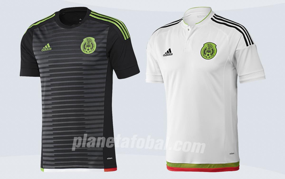 Camisetas de México para la Copa América y Copa de Oro 2015   Imagenes Adidas