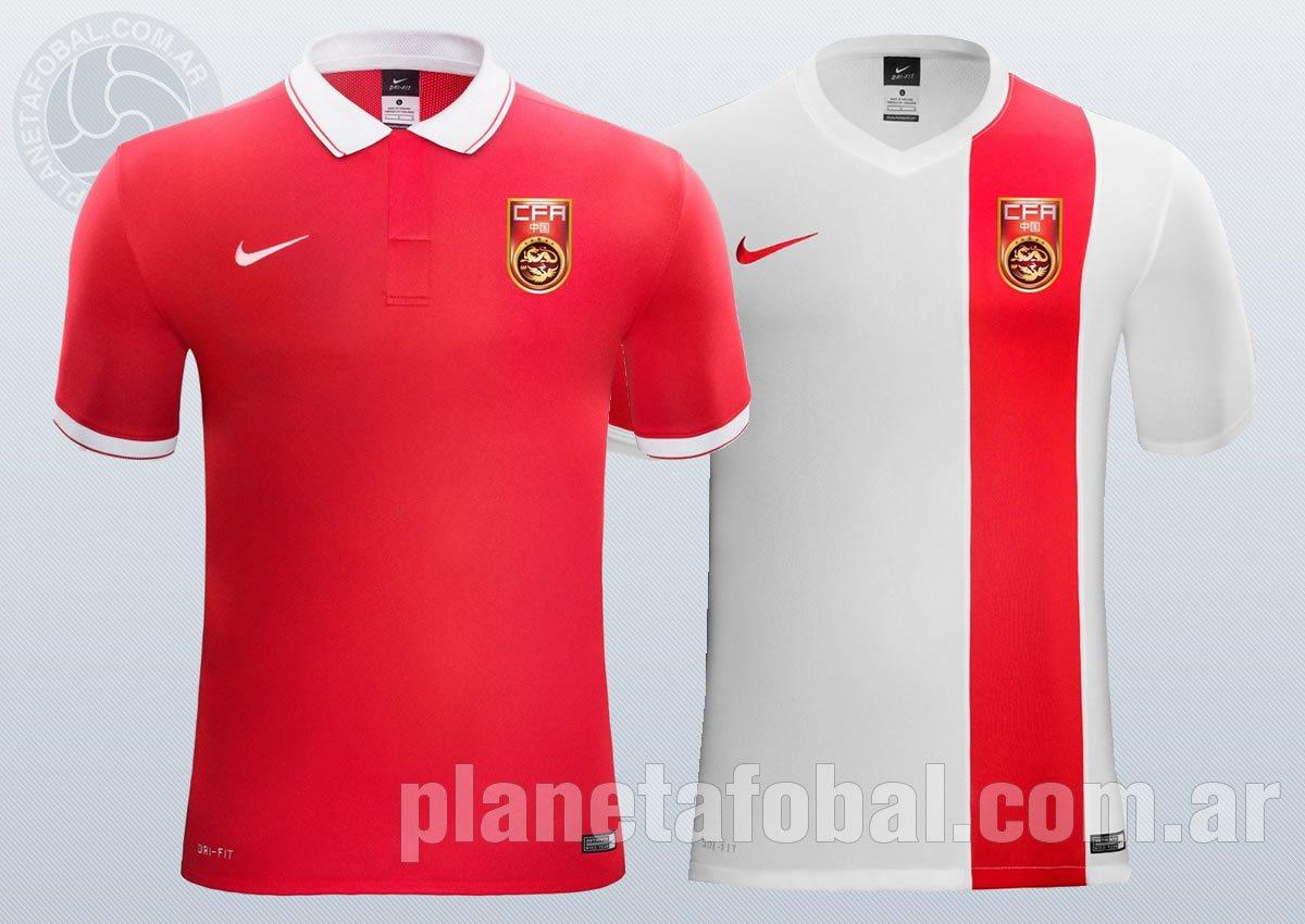Las nueva camisetas de China | Imágenes Nike