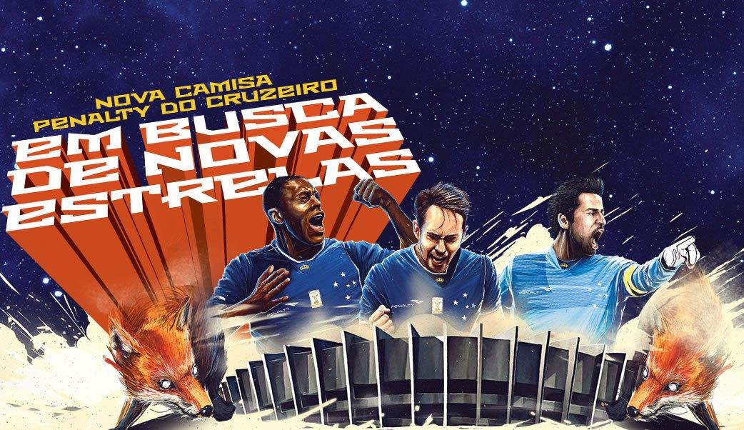 Cruzeiro presentó sus nuevas camisetas | Foto Penalty
