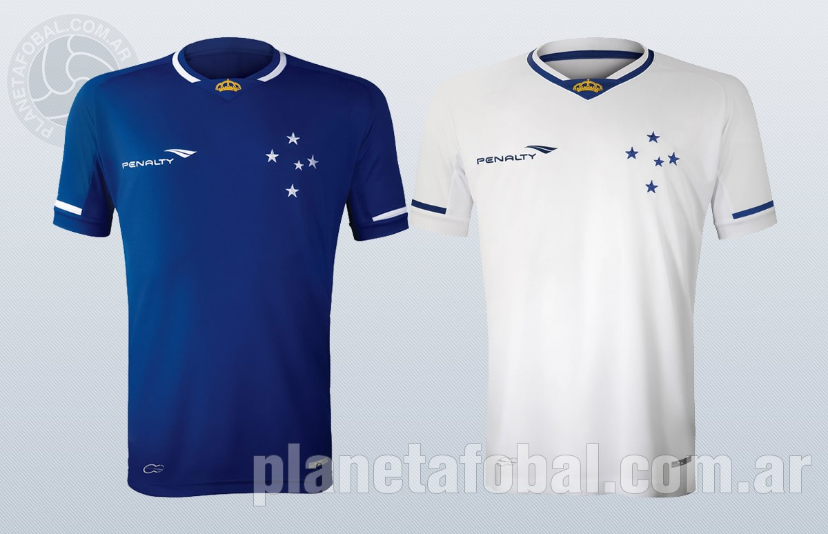 Cruzeiro presentó sus nuevas camisetas Penalty | Imagenes Tienda Oficial