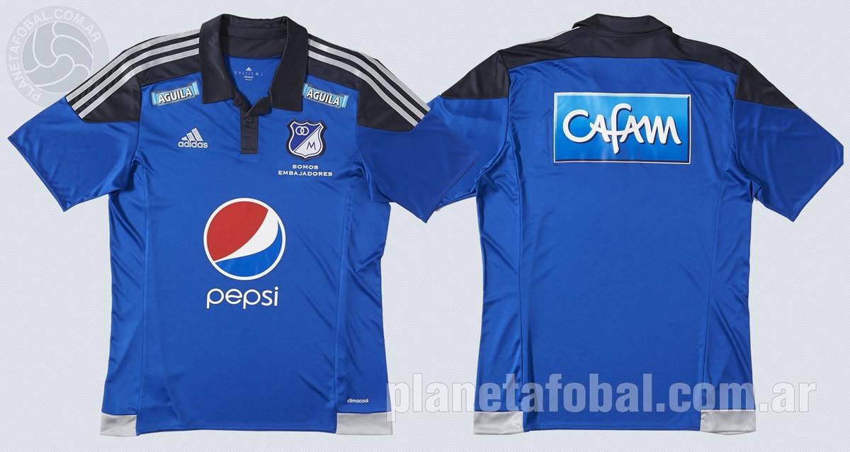 Camiseta titular de Millonarios | Imágenes Adidas