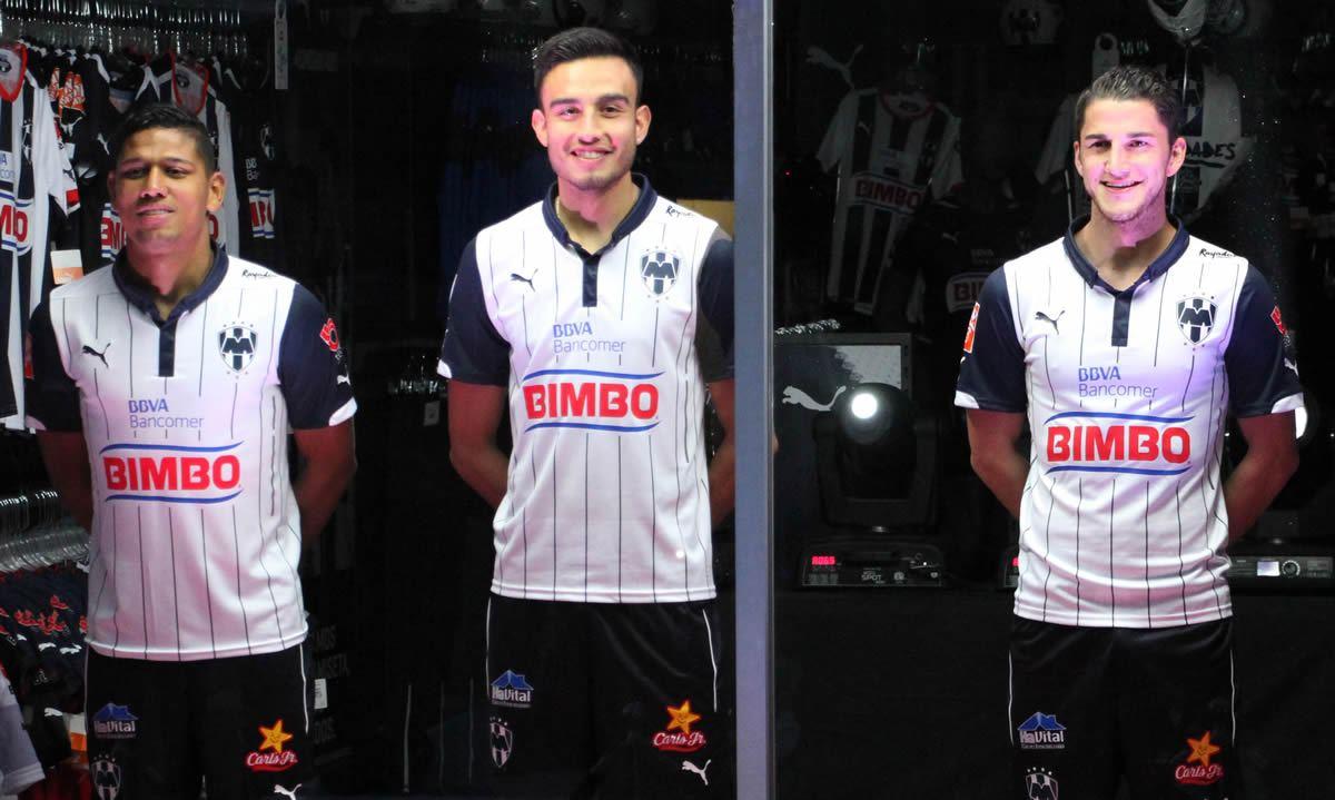 Asi luce la tercera camiseta de Monterrey para 2015 | Foto Comunicacion Rayados