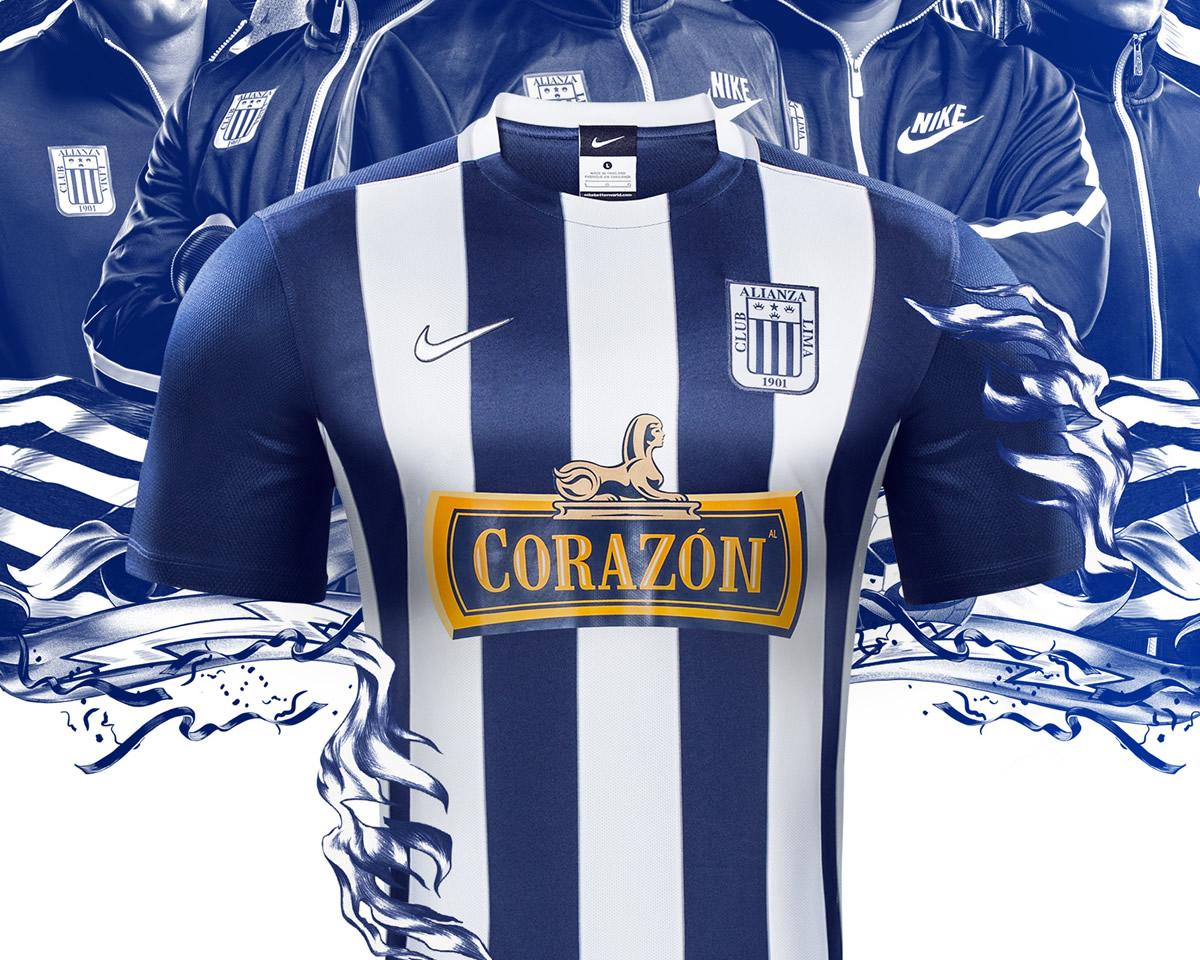 Nueva casaca titular de Alianza Lima | Imágenes Nike