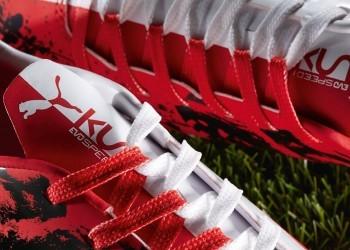 Botines personalizados del Kun Agüero | Foto Puma