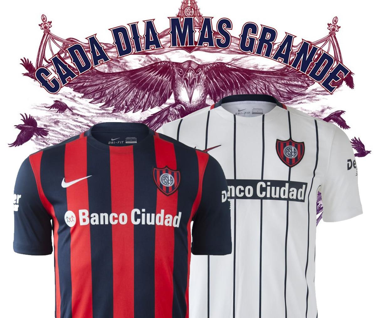 Las nuevas camisetas de San Lorenzo | Imágenes Netshoes