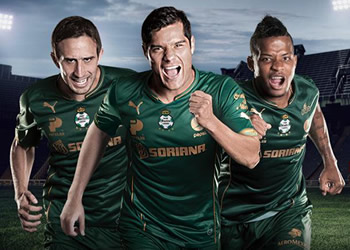 Santos Laguna dio a conocer su tercer uniforme para 2015 | Foto Puma