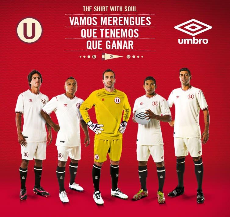 Nueva casaca de Universitario | Foto Umbro