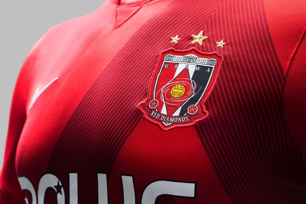 Nuevas casacas del Urawa Red Diamons | Imágenes Nike