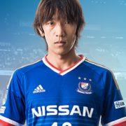 Casaca titular del Yokohama Marinos   Imagen Adidas
