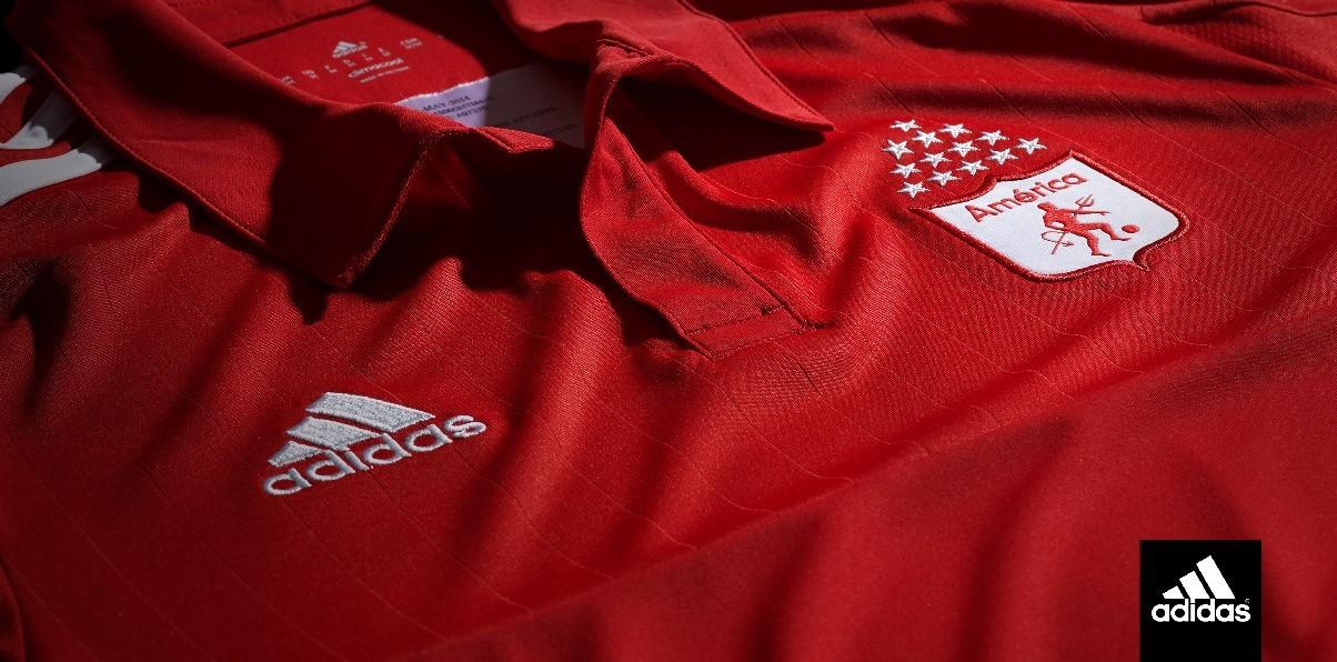 Adidas presentó la nueva casaca del América de Cali