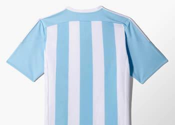Camiseta titular de Argentina 2015 | Imagen Adidas