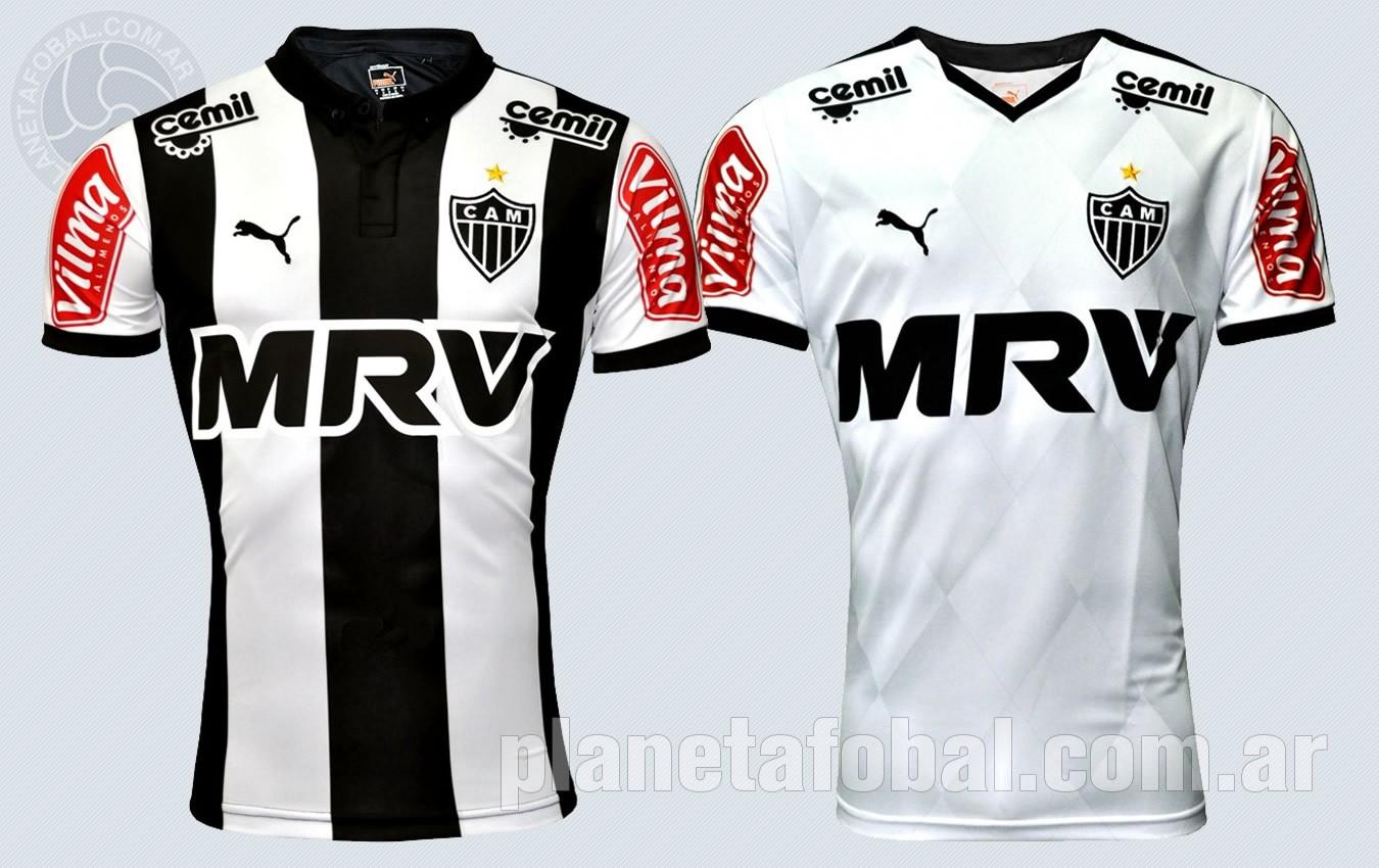 Nuevas camisetas de Atlético Mineiro | Imágenes Web Oficial