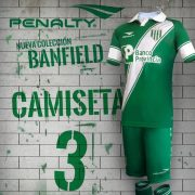 Nueva camiseta de Banfield | Foto Penalty