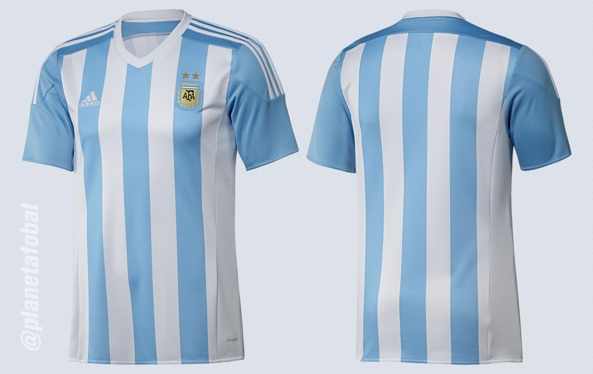 La nueva camiseta de Argentina | Imágenes Twitter AFA