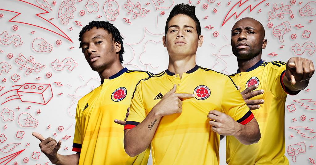 Nueva camiseta de Colombia | Foto Adidas